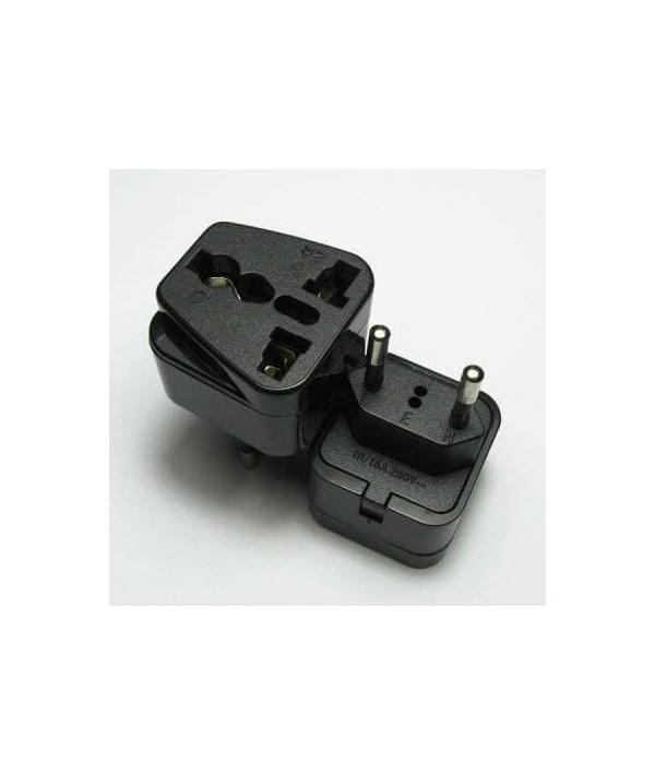 الکتریک socket تبدیل بدون ارت خارجی 3به2