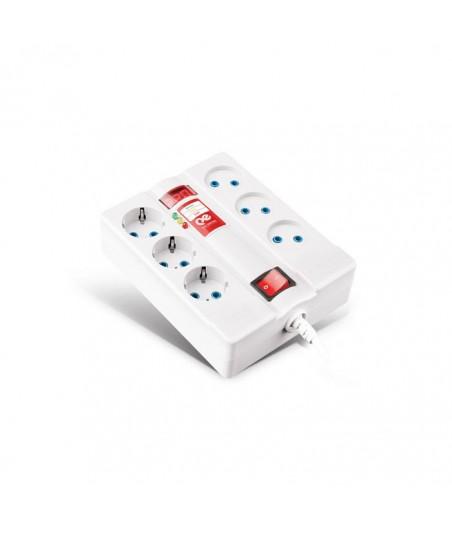الکتریک پارت الکتریک محافظ 6خانه دیجیتالی با کابل 5متری پارت الکتریک