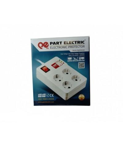 الکتریک پارت الکتریک محافظ 4خانه کامپیوتر 3 متری پارت الکتریک